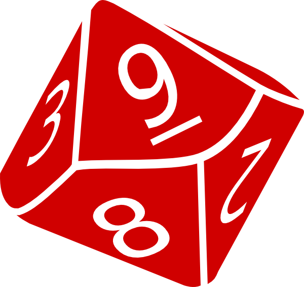 10 sided die