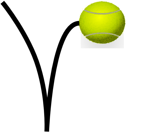 Tennis Ball Bounce Clip Art at Clker.com - vector clip art online ...