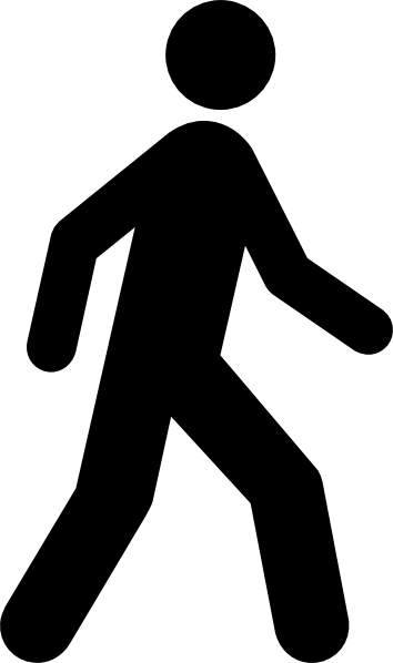 Image result for walking man vector free