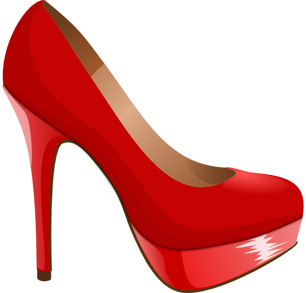 Red High Heel Clip Art at Clker.com - vector clip art online ...