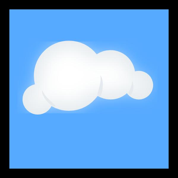 cloud clipart background - photo #48