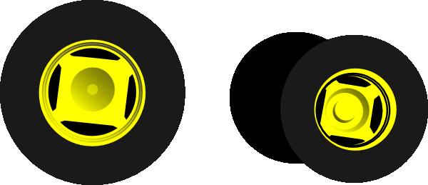 Clip Art Tractor Wheels : Tractor wheels clip art at clker vector