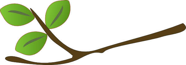 Twig Clip Art a... Oak Leaf Pictures Clip Art