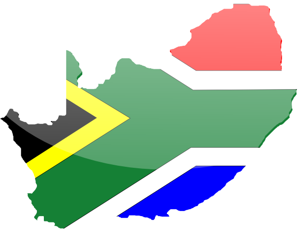 South African Flag Clip Art at Clkercom  vector clip art online