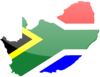 South African Flag Clip Art