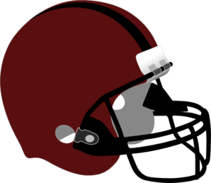 Red And Black Helmet Clip Art
