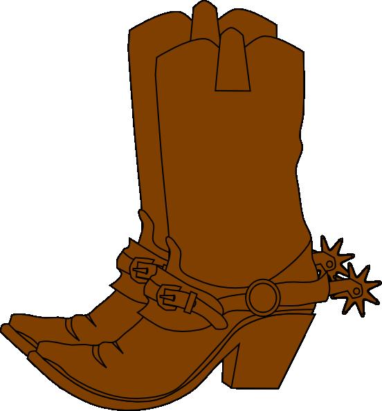 boots clip art at clkercom vector clip art online
