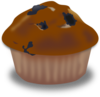 Chocolate Muffin Clip Art