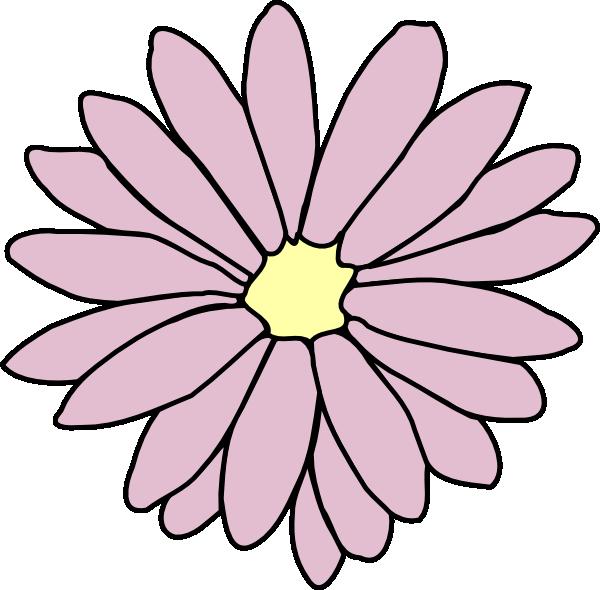 Pink Daisy clip artRed Daisy Clipart
