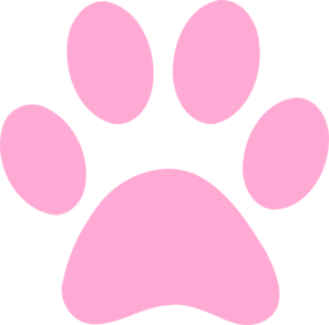 pink paw print clip art at clker com vector clip art Metallic Paw Prints Clip Art gold paw print clipart with rgb