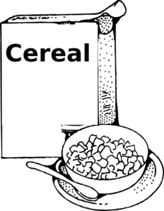 Cereal Clip Art