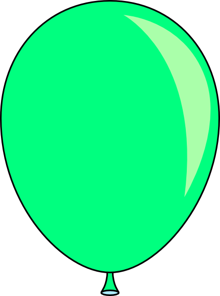 New Green Balloon Clip Art at Clker.com - vector clip art ...