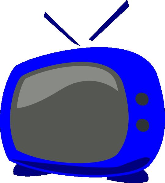 blue tv clip art at clker com vector clip art online clip art tv's clip art tv cartoons