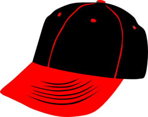 Red Black Hat Clip Art