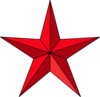 Star Red Mb Clip Art