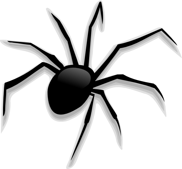 download this image as - Halloween Spiders
