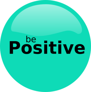 Be Positive Clip Art
