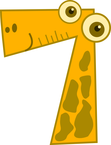 Animal Number Seven Clip Art at Clker.com - vector clip art online ...