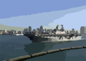 Uss Boxer (lhd 4) Departs San Diego, Calif., On A Deployment To The Central Command Area Of Responsibility In Support Of Operation Iraqi Freedom Ii Force Rotation. Clip Art