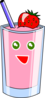 Strawberry Shake Clip Art