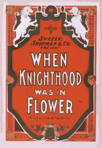 Sweely, Shipman & Co. Present When Knighthood Was In Flower By Charles Major And Paul Kester. Clip Art