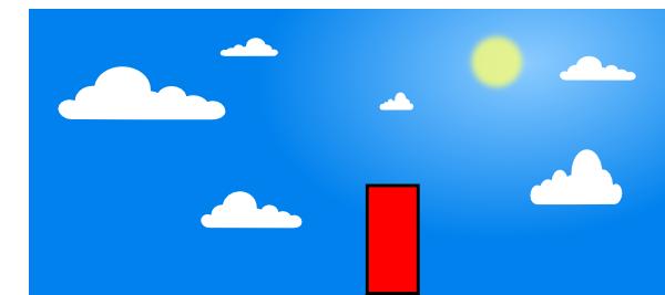 blue sky with clouds clip art at clker com vector clip art online rh clker com  clouds blue sky clip art
