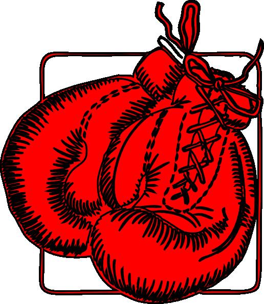 Boxing Gloves Clip Art at Clker.com - vector clip art online, royalty ...