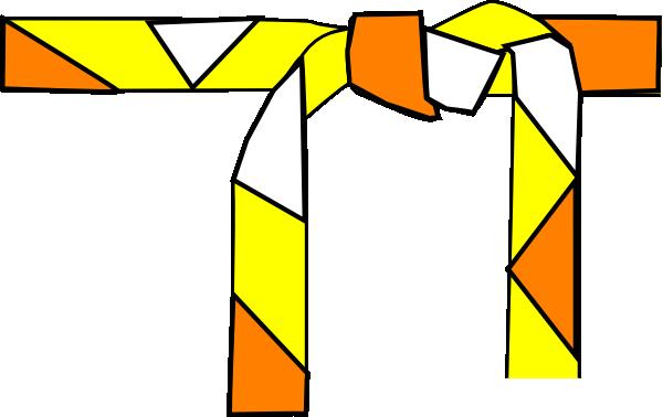 yellow belt clipart - photo #4