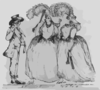A Peep Into Brest With A Navel Review!  / Drawn & Etch D By R. Newton. Clip Art