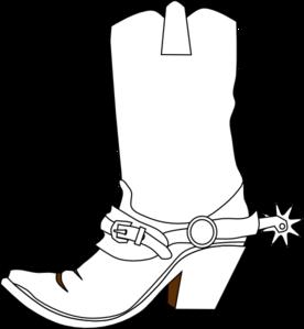 Clip Art Cowboy Boots Clip Art cowboy boot clip art at clker com vector online art