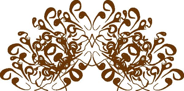 crown swirl design clip art at clker com