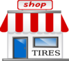 Tire Shop Clip Art
