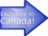 Exclusive In Canada! Clip Art