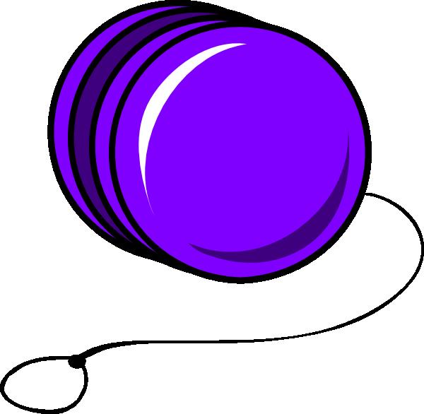 Yoyo Clipart Purple Cartoon Yoyo Cl...