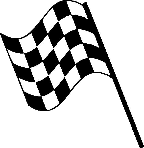 Checkard Flag Racing clip art - vector clip art online, royalty ...