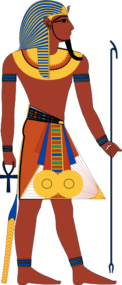 pharaoh right facing clip art at clker com vector clip art online rh clker com pharaoh face clipart pharaoh clipart black and white