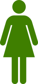 Green Woman Clip Art