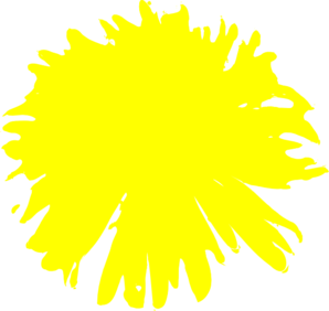 Yellow Dandelion Clip Art at Clker.com - vector clip art online ...