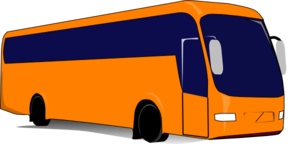 Orange Tour Clip Art