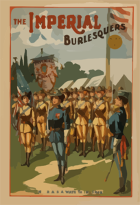 The Imperial Burlesquers As Good As The Best. Clip Art