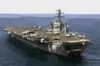Uss Nimitz (cvn 68) Transits The Arabian Gulf As It Prepares For Flight Quarters. Clip Art