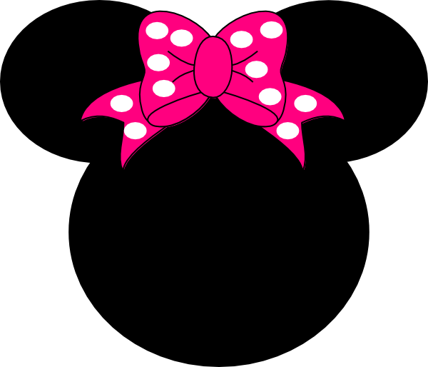 Minnie Mouse Clip Art at Clker com - vector clip art online  royalty    Red Minnie Mouse Head Clip Art