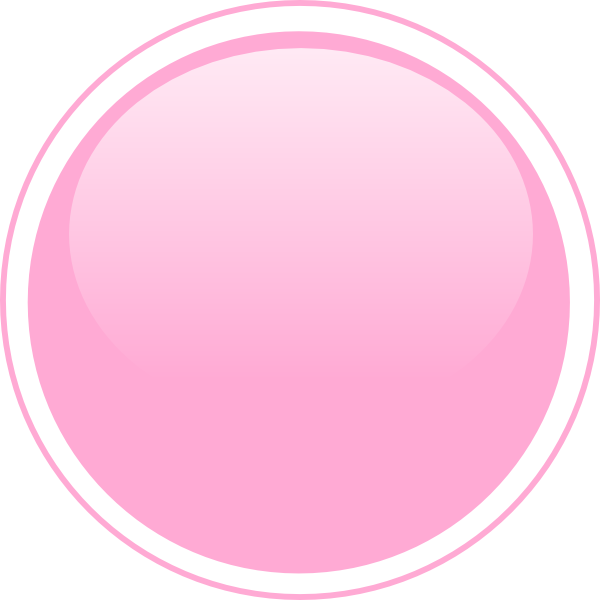 Glossy Pink Circle Button Clip Art at Clker.com - vector ...