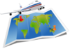 Airplane Travel Clip Art