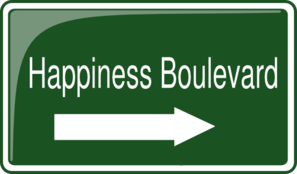 Happiness Boulavard Clip Art