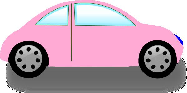 soft pink car clip art at clker com vector clip art online rh clker com race car clipart images car clipart pictures