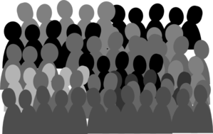Smaller Crowd Rdc Clip Art