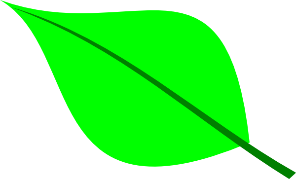 free clipart green leaf - photo #7