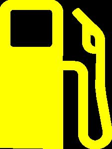 gas pump yellow clip art at clker com vector clip art online rh clker com gas pump clipart cartoon gas pump clipart free