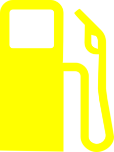 gas pump yellow clip art at clker com vector clip art online rh clker com old gas pump clipart gas pump clipart black and white